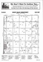West Blue Township, Hansen, Hastings, Trumbull, Directory Map, Adams County 2007
